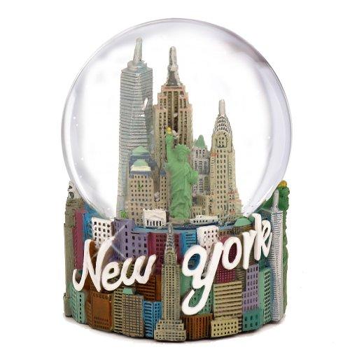 New York Snowglobe - New York City Classic Snow Globe - 80mm