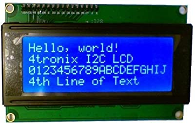 RioRand® LCD Module for Arduino 20 x 4, White on Blue
