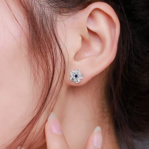UHIBROS 7 Pairs Stainless Steel multiple styles Hypoallergenic Week Stud Earrings Set Trendy Infinity Earrings