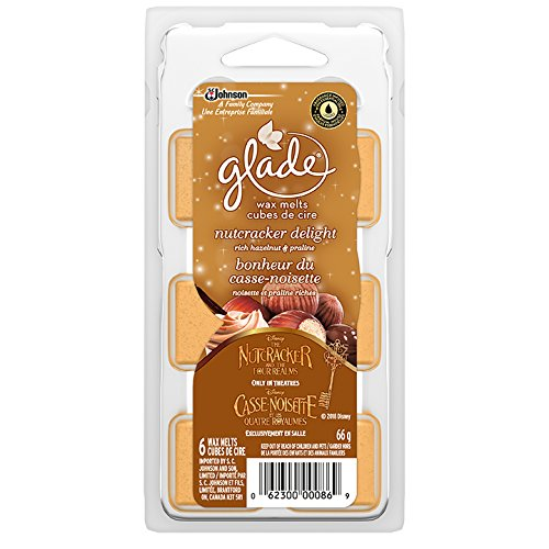 Glade Holiday Collection Wax Melts Refills, Nutcracker Delight, 6 Count SC Johnson 302152