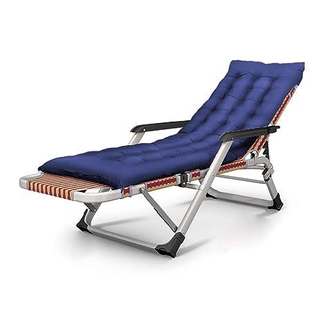 Tumbonas LXF cojín de algodón, sillas Plegables para ...