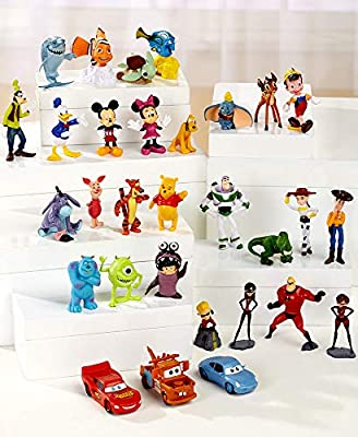 The Lakeside Collection 30-Pc. Disney Figurine Set