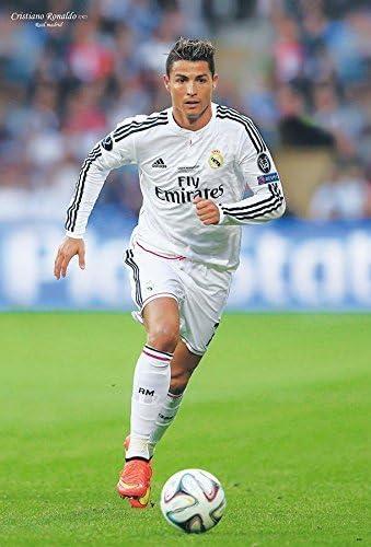 Cristiano Ronaldo/real Madrid 2015 Sport Soccor 24 x 88,9 cm O ...
