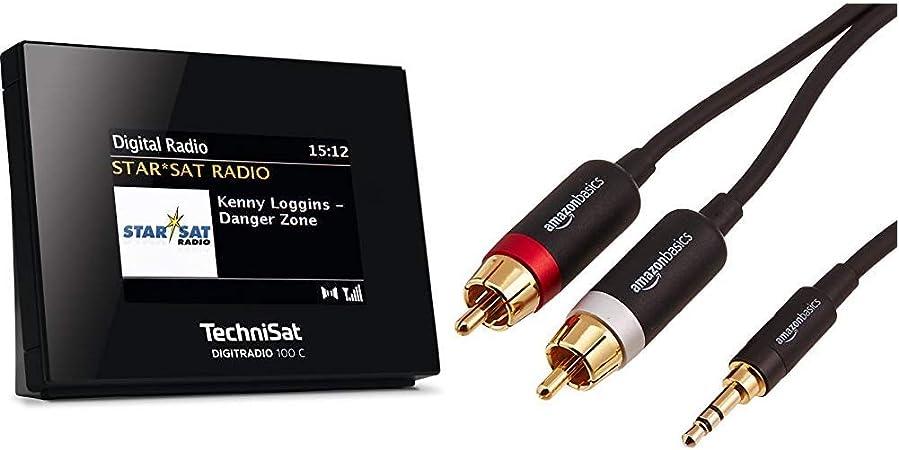 Technisat Digitradio 100 C Dab Radio Adapter Schwarz Elektronik