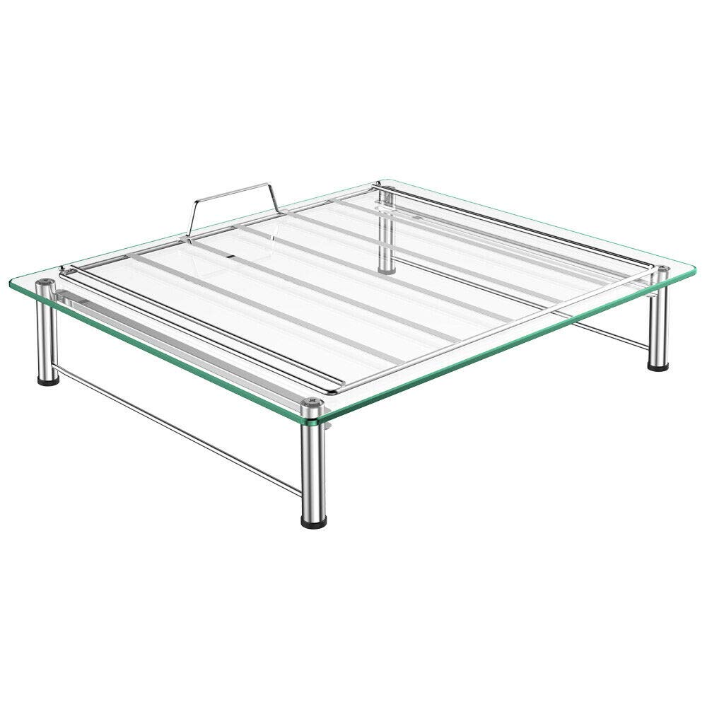 Adumly 36 K Cup Glass Table Holder Rack Storage fits Coffee Pod Drawer Organizer