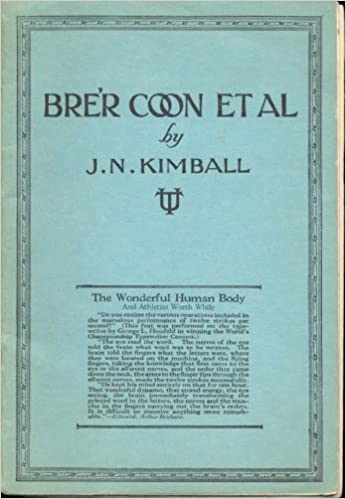Bre'r Coon Et Al, The Wonderful Human Body and Athletics Worth While