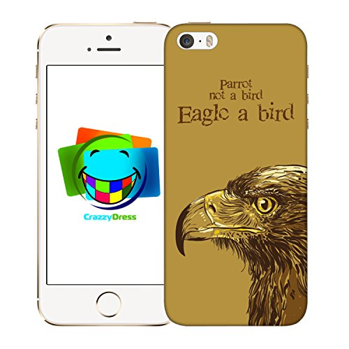 Bralexx 9211#_iPhone_5_5S_Birds_7 Schutzhülle für Apple iPhone 5/5S