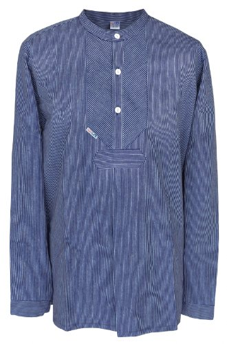 Fischerhemd Original schmal gestreift, Damen 42 = Herren 50