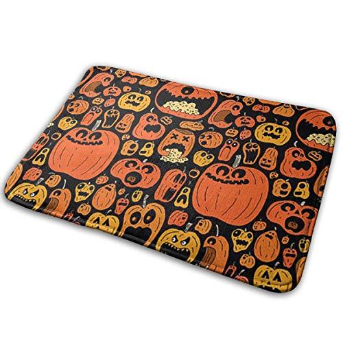 OLZI Halloween Decoration Doormat Indoor Home Kitchen Bathroom Outdoor Non-Slip (23.6