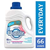 Woolite Everyday, Laundry Detergent, Mega Value Pack, 2.96 L, With Colour Renew - Clothes Look New Longer 1 Count, 66 Loads