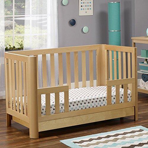 Natural Crib Drawer - Sorelle Cortina Crib with Drawer, Natural