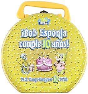 Bob Esponja Cumple 10 Años [DVD]