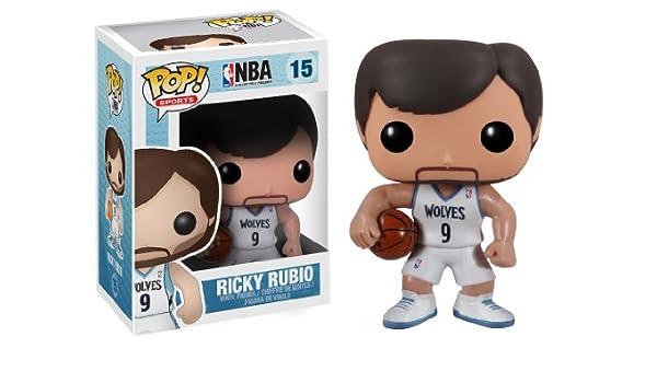Funko Pop Figura de Vinilo de Ricky Rubio en la NBA Series 2 ...
