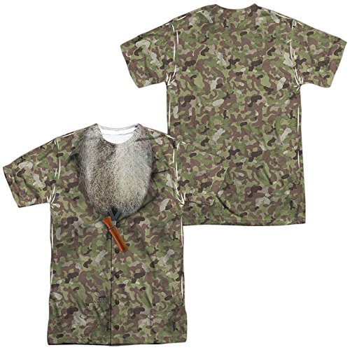 Duck Dynasty Camo Costume Unisex Adult Sublimated T Shirt for Men and Women