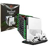 Multifuncional Suporte Cooler Carregador HuB Usb Stand Para Xbox One S KJHXBOXONES-03