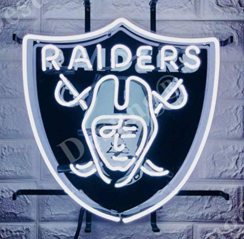 Oakland Raiders Neon Sign - Desung Brand New 24