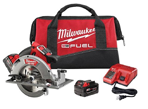 Milwaukee 2731-22 M18 Fuel Circular Saw Battery Kit