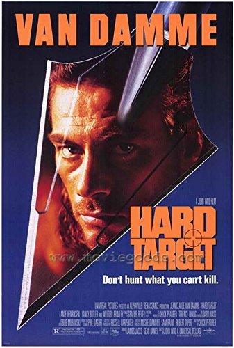 van damme hard target poster - 2