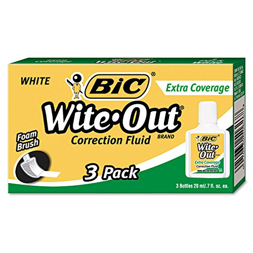 BIC Coverage Correction 3 Pack WOFEC324