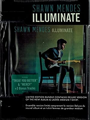 Shawn Mendes - Illuminate (deluxe/with Ladies Medium T-shirt) - Cd