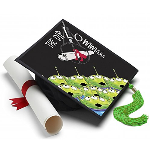 Tassel Toppers The Diploma Grad Cap Decorated Grad Caps - Toy Story The Claw -