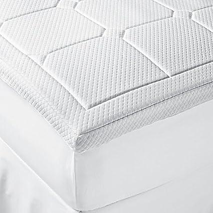Amazon Com Therapedic Luxury Quilted Deluxe 3 Inch Memory Foam
