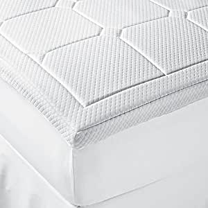 Amazon Com Therapedic 174 Luxury Quilted Deluxe 3 Inch