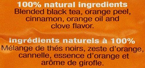 Stash Tea Orange Spice Black Tea 10 Count Tea Bags in Foil (Pack of 12) (packaging may vary) Individual Black Tea Bags for Use in Teapots Mugs or Cups, Brew Hot Tea or Iced Tea by Stash Tea (Image #2)