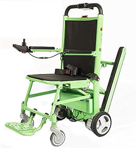 Stair Chair Silla de Escalera Silla de Ambulancia Plegable Silla de Ruedas eléctrica de Aluminio y Escalera elevadora Silla de Ruedas Silla de evacuación de Emergencia Ajustable en 3 Alturas: Amazon.es: Deportes