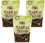 (3 Pack) Exclusively Dog Harvest Blends Sweet Potato Flavored Treats, 7-Ounce Pouches