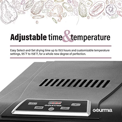 Gourmia GFD1650 Premium Food Dehydrator