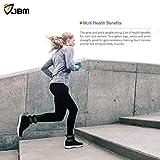 JBM-Ankle-Weights-Wrist-Leg-Weights-Sand-Filling-2lb-4lb-6lb-1-Pair-Adjustable-Straps-for-Walking-Jogging-Gym-Fitness-Exercise-Gymnastics-Aerobics-3-colours