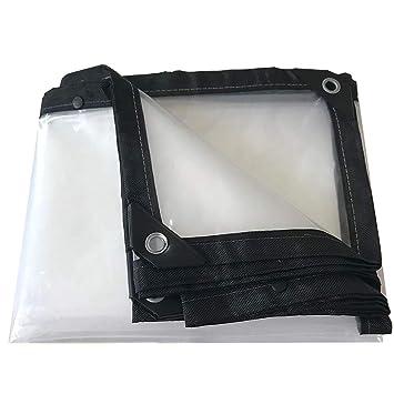 XIN Lonas Impermeabilizante Impermeabilizante Transparente Impermeabilizante Resistente al Agua Toldo Sombra Tela Impermeable Invernadero - Opciones