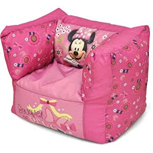 Amazon Com Disney S Minnie Mouse Ultimate Bean Bag Chair