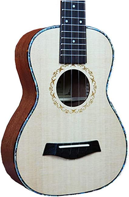 NING-MENG Guitarra hawaiana de 4 cuerdas ukelele solo superior de ...