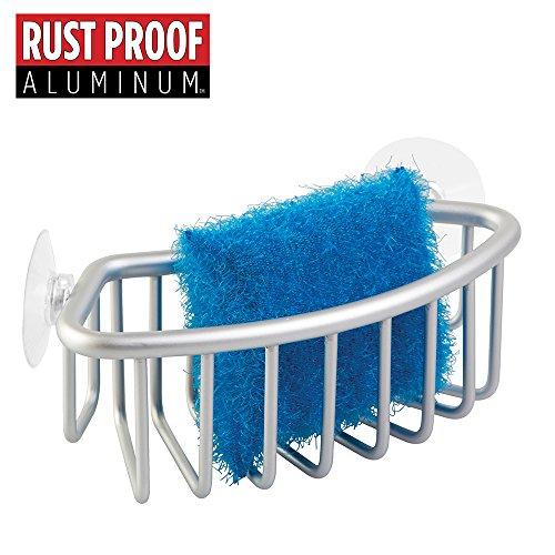 mDesign Rustproof Aluminum Kitchen Scrubbers