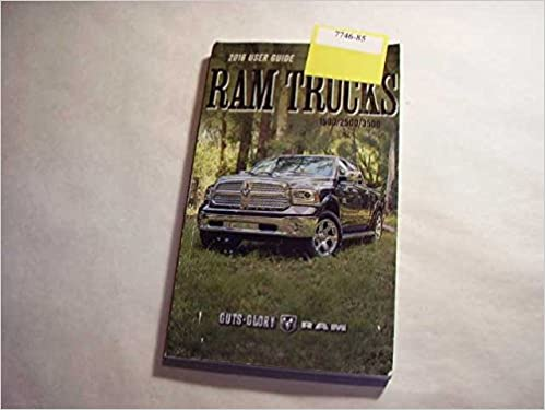 ram trucks owners manual 2016