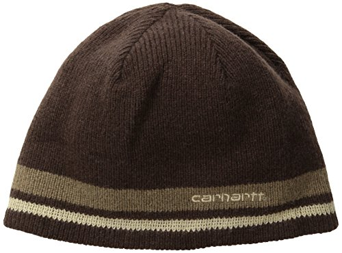 Carhartt Men's Bigelow Knit Hat,Dark Brown,One -