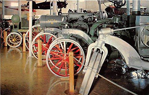 Minden, Nebraska, NE, USA Postcard Pioneer Village, Antique Tractors Unused