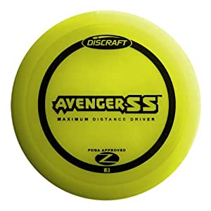Discraft Avenger SS Elite Z Golf Disc, 160-166 grams