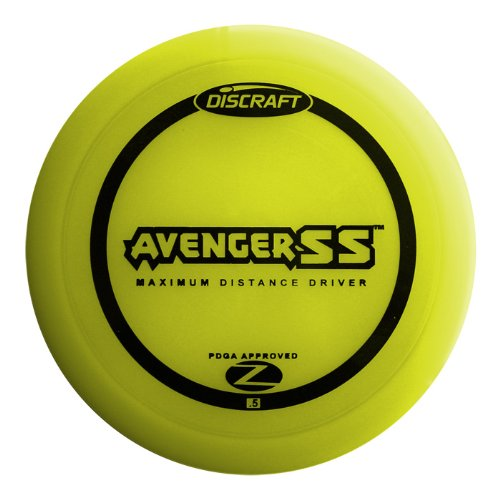 Discraft Avenger SS Elite Z Golf Disc, 160-166 grams