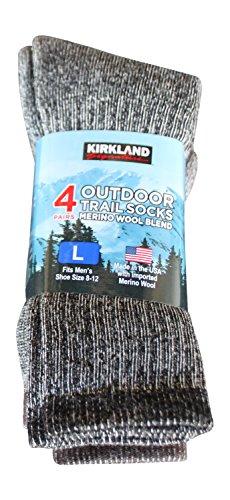 kirkland-signature-outdoor-trail-sock-merino-wool-blend-large-pack-of-4