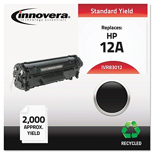 IVR83012 Q2612A Innovera Compatible HP # Q2612A black toner for HP laserjets 1022/ 1022n / 1012 series