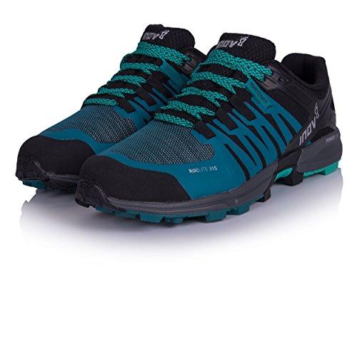 Inov-8 Mujeres Roclite 315 Trail Running Zapatos Verde Azulado / Negro