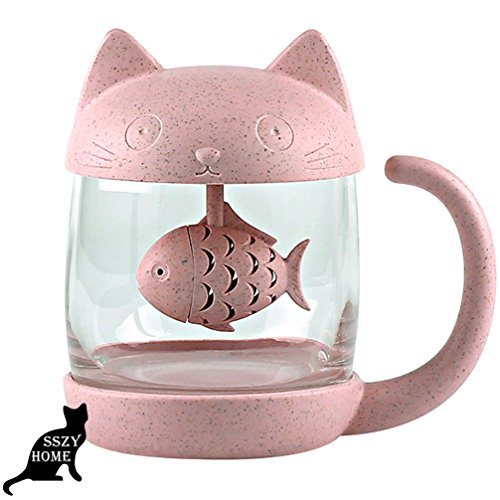 Cute Cat Teacup
