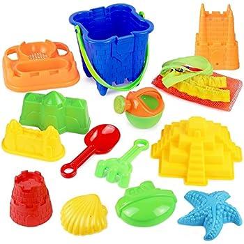 Click N Play 13 Piece Sand Castle Mold Set