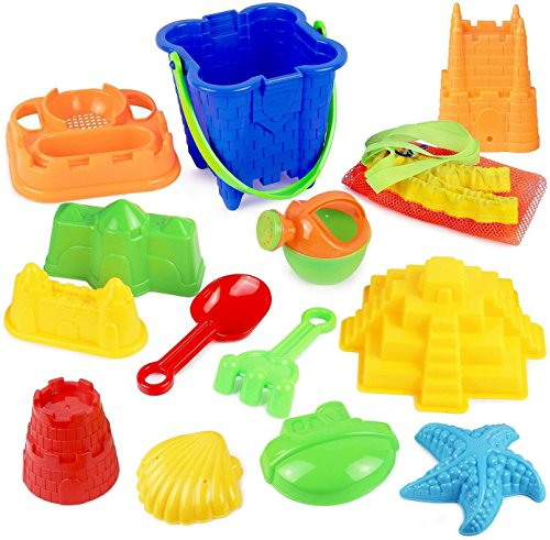 Click Play Piece Sand Castle product image