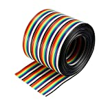 Best uxcell Long Boards - uxcell® 40P Jumper Wire 1.27mm Pitch Ribbon Cable Review