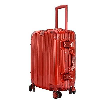 0b1b5a36db48 Amazon.com: Daeou Hand Luggage suitcases Student Aluminum Frame ...