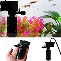 Hot Sale!DEESEE(TM)3in1 Aquarium Internal Filter Oxygen Submersible Water Pump For Fish Tank Pond